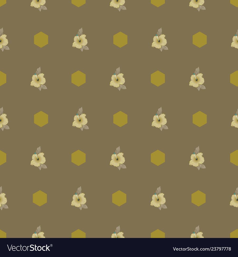 Elegant seamless pattern with hand drawn