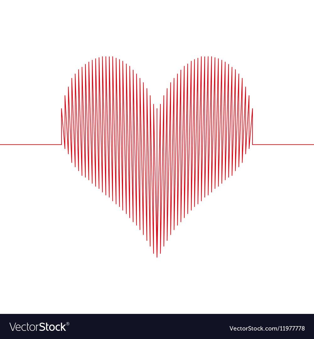 Love wave heart