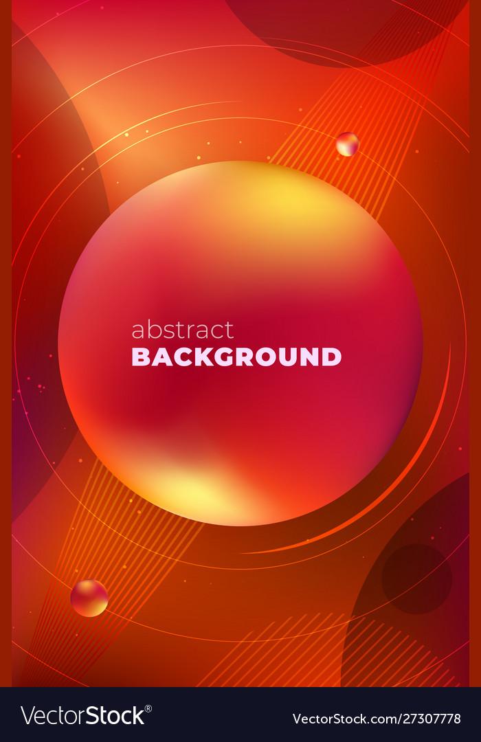 Red vertical liquid color background design fluid