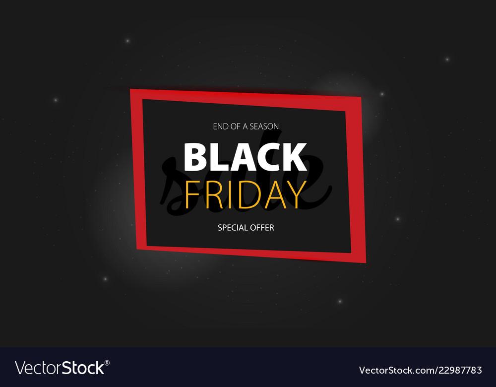 Black friday big sale special offer end of season
