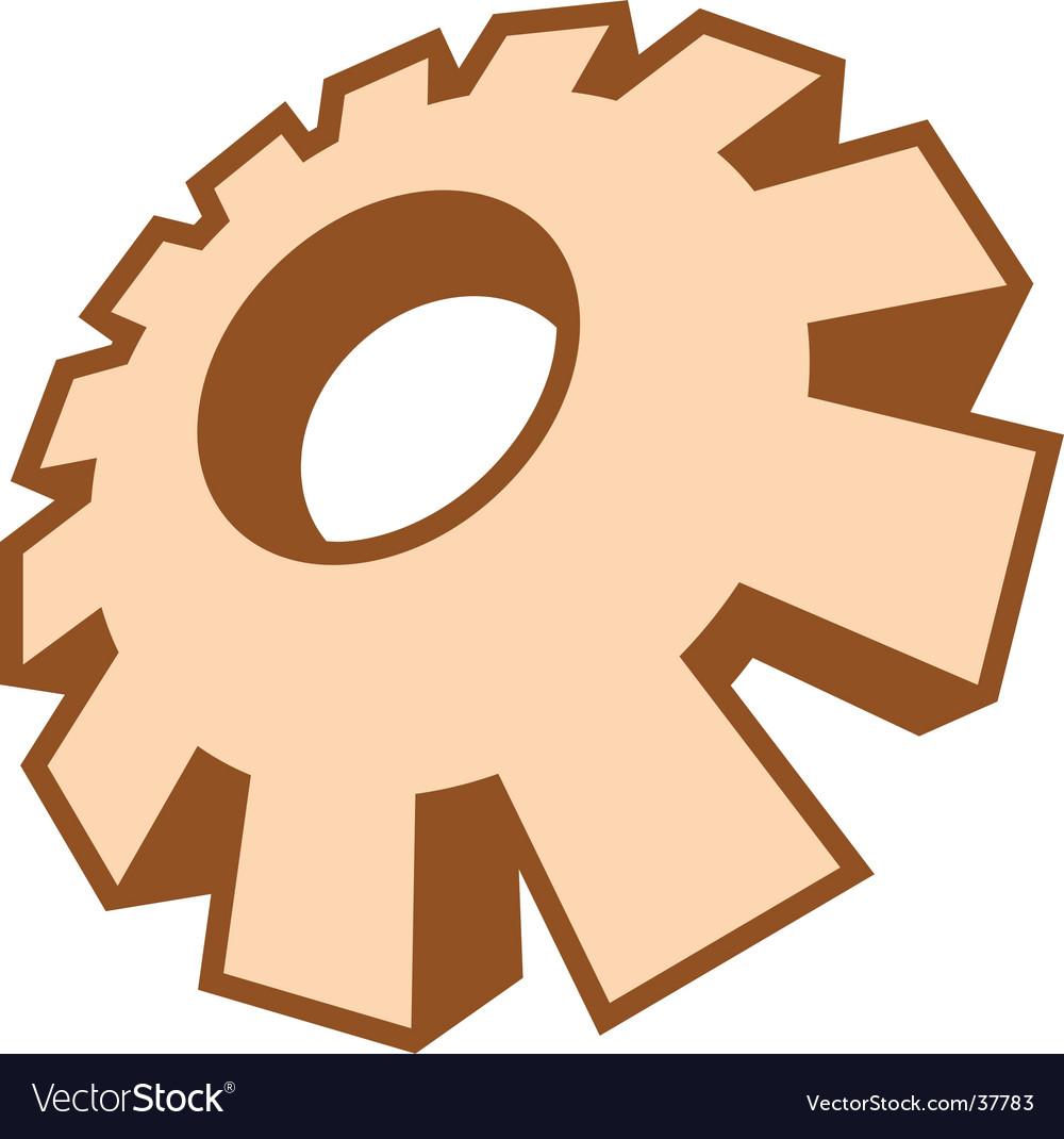 gear royalty free vector image vectorstock rh vectorstock com gear vector image gear vector free