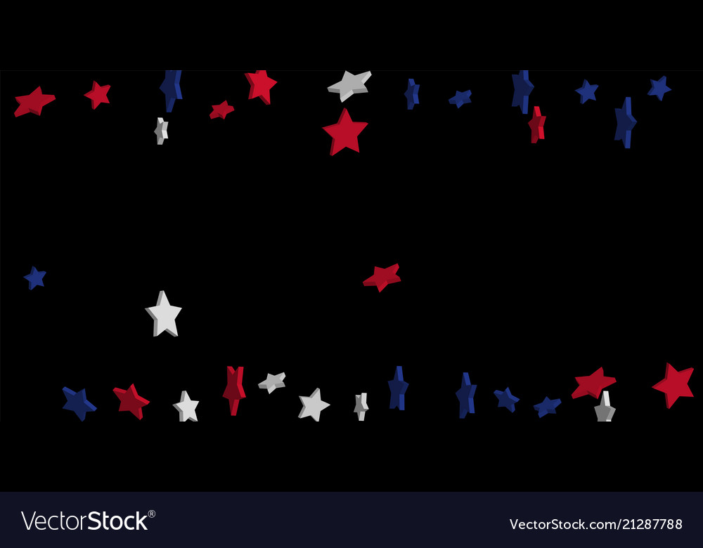 Abstract background red blue white stars