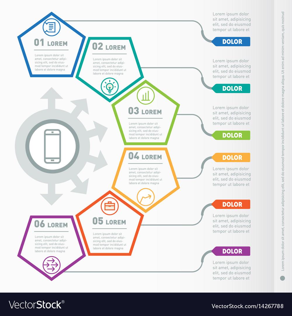 Web Diagram Template from cdn4.vectorstock.com