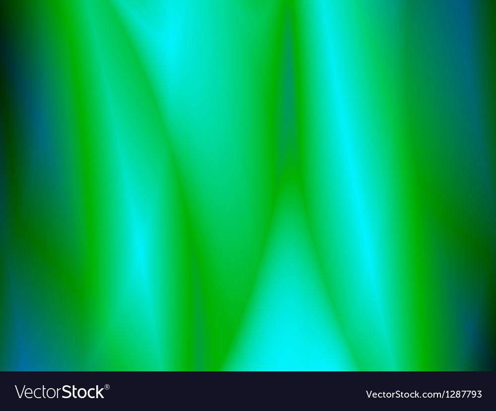 Abstract green pattern background vector image