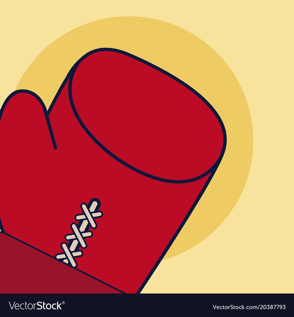 Boxing sport gloves