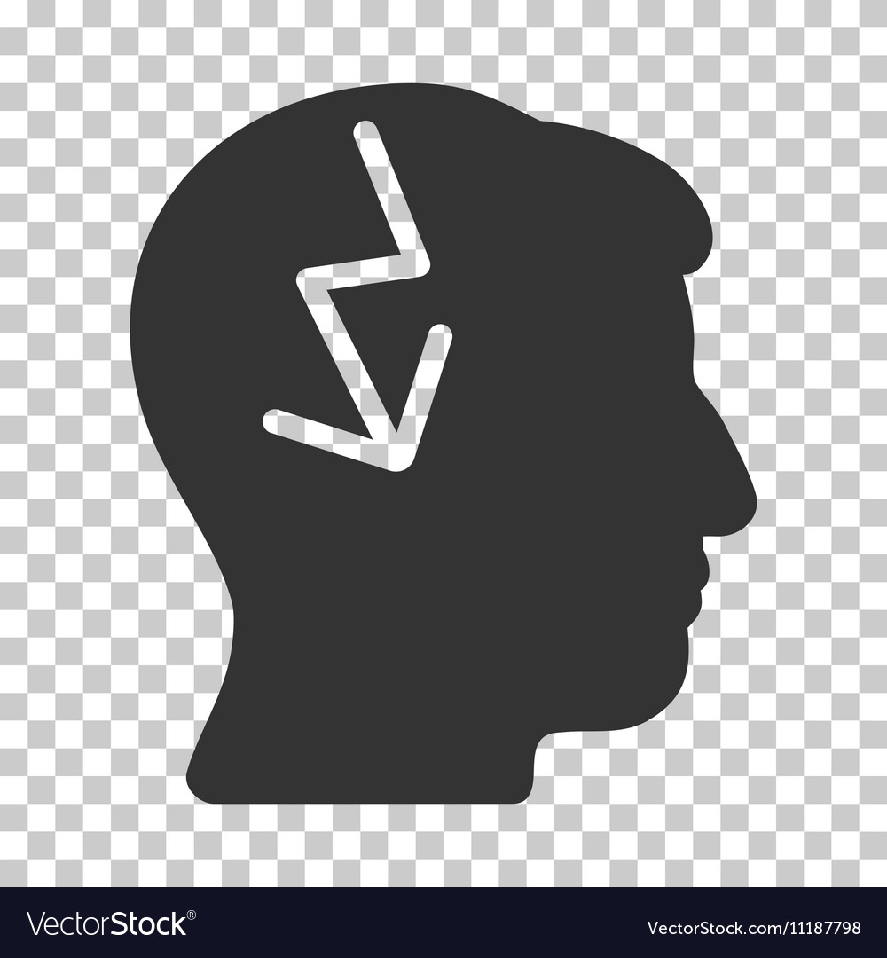 Brain Electric Strike Icon