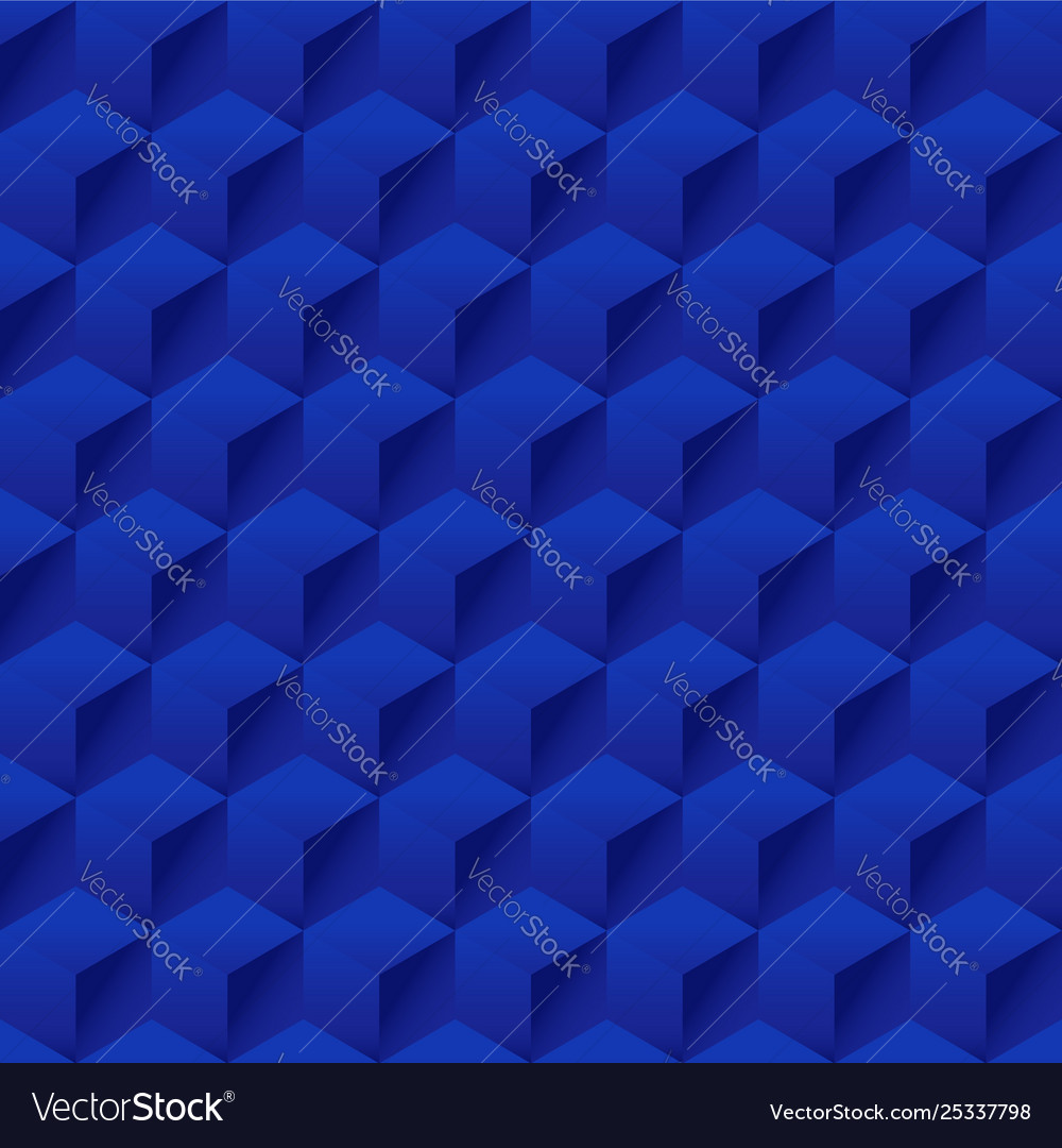 Seamless geometric 3d pattern hexagon pattern
