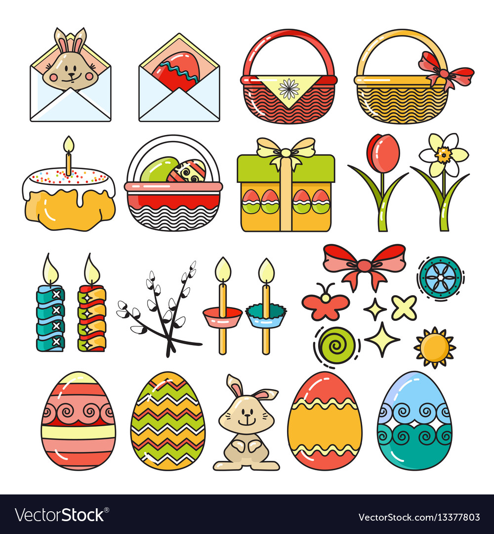 Set easter icons