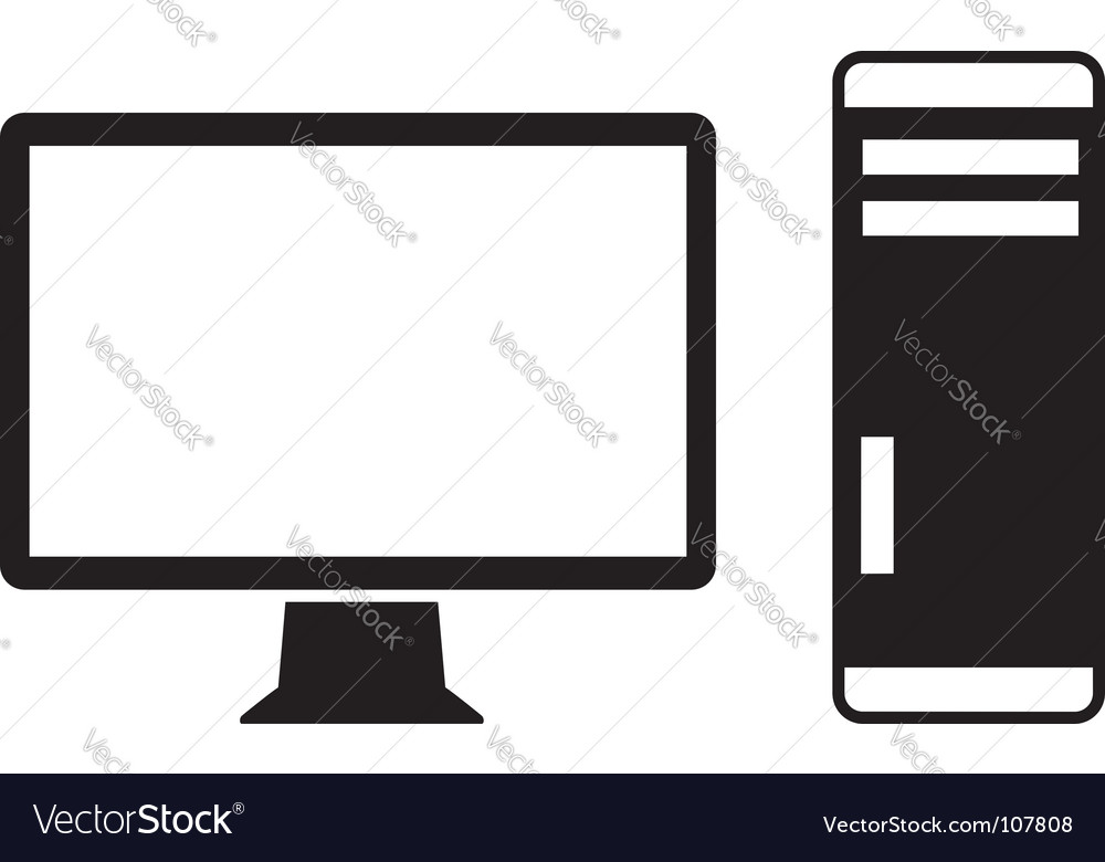 Computer Icon Royalty Free Vector Image