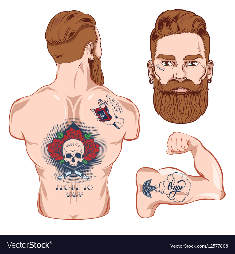 Tattooed Character Images