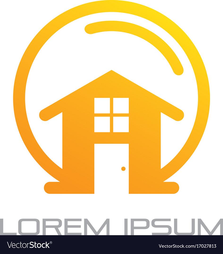 Home building business logo