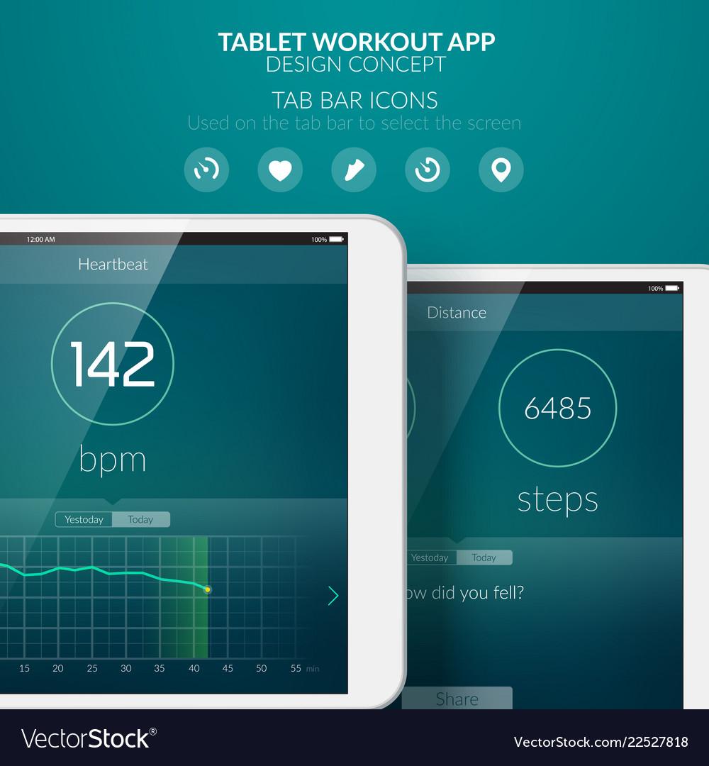Mobile application design concept
