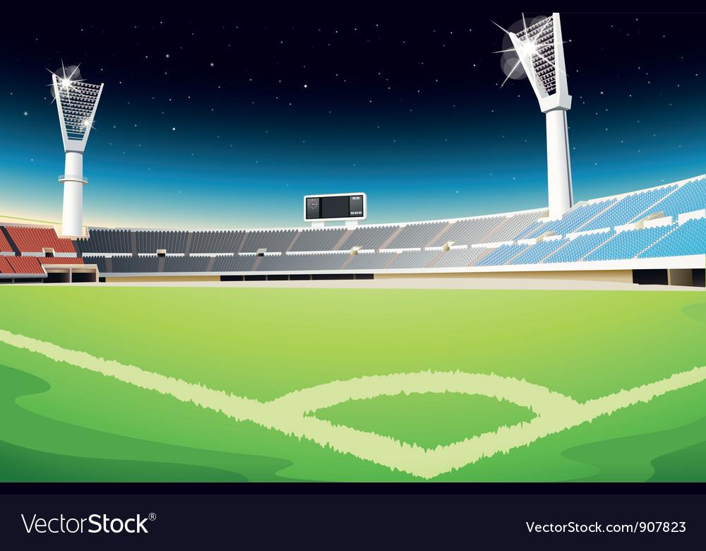 Sporting stadium vector image