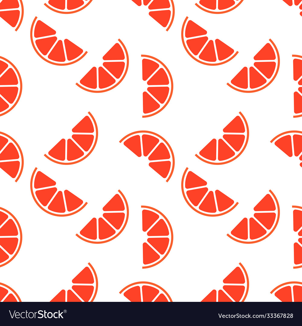 Seamless pattern with grapefruit perfect