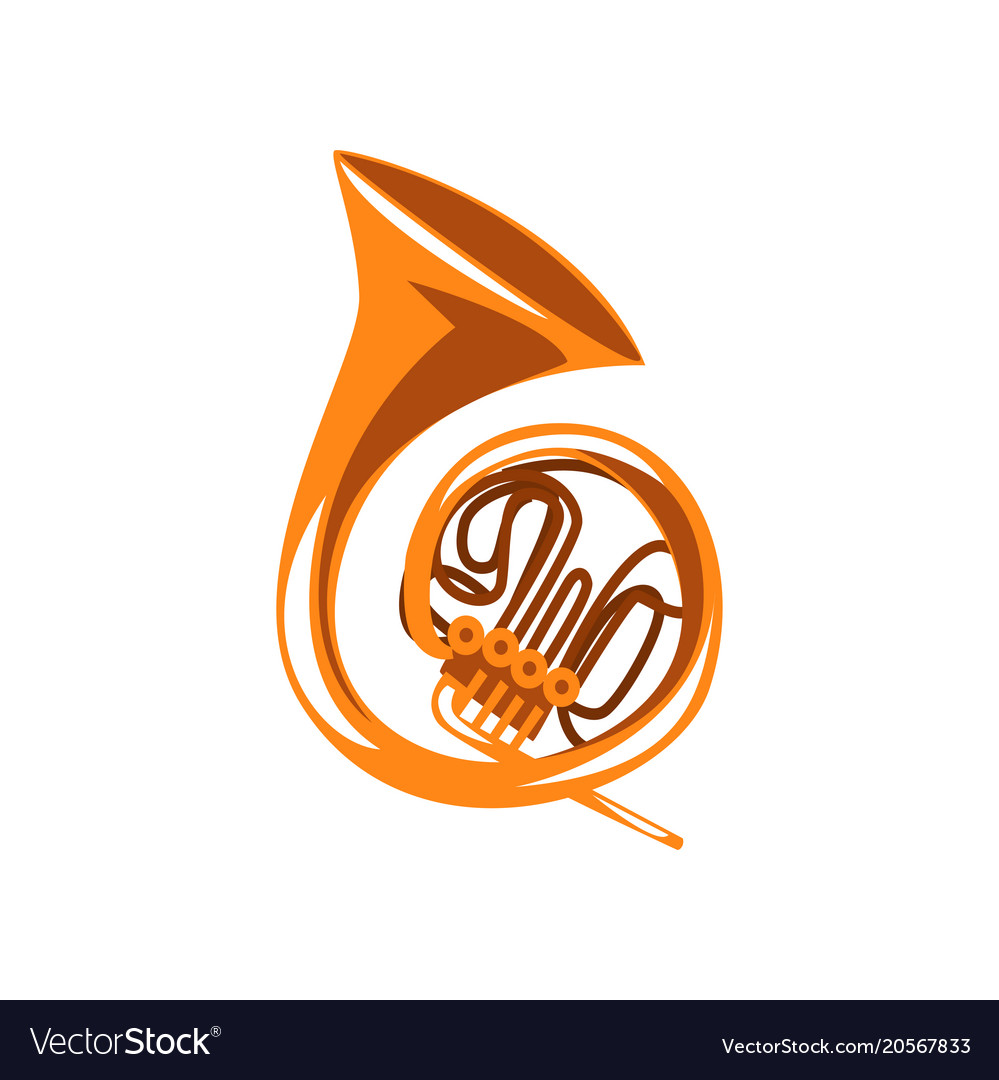 Brass french horn classical music wind instrument