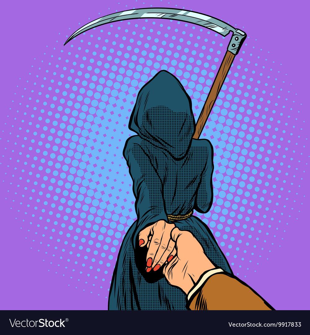 Follow me the Grim Reaper leads