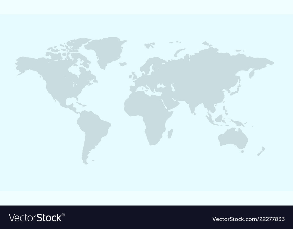 World map concept background flat style