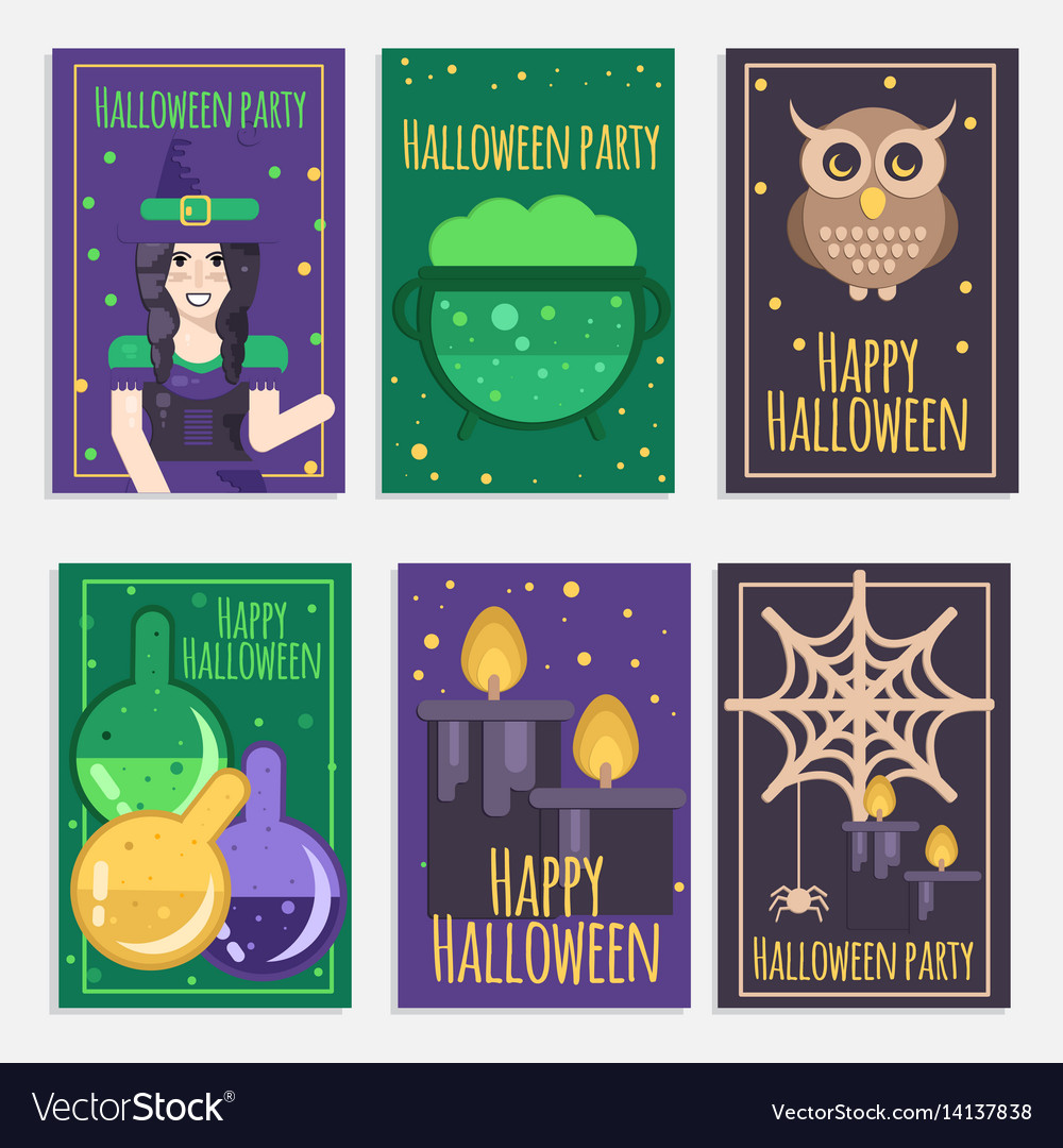 Halloween party banners
