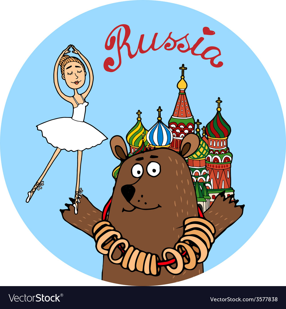 Russia tourism badge
