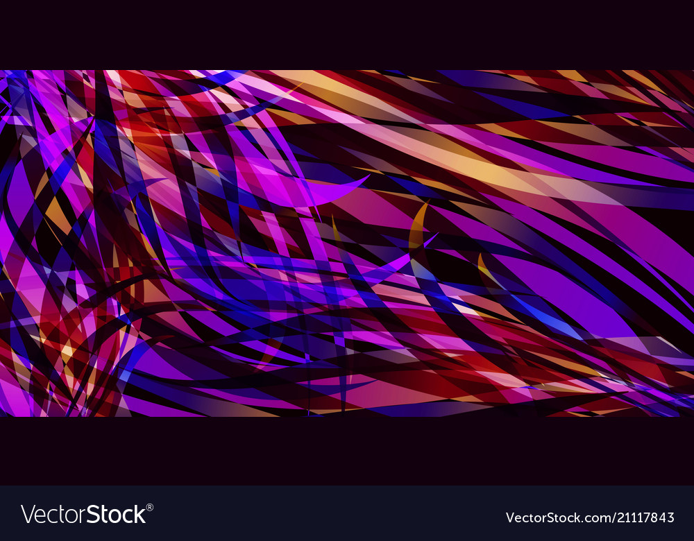 Background of smooth colored colorful lines