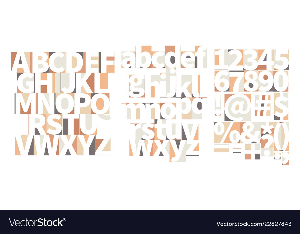 Minimal geometric art-deco font with counter
