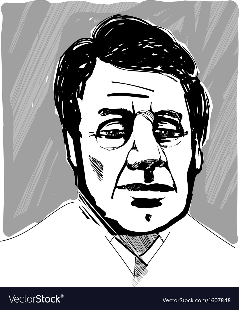 Man Face Artistic Drawing