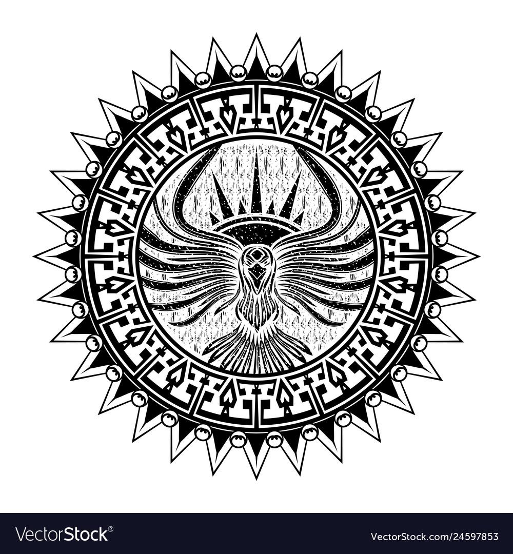 Ethnic tattoo 0007