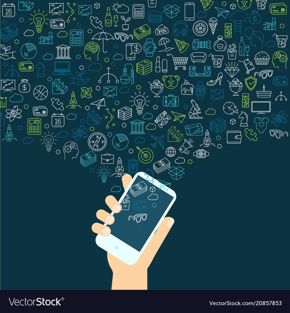 Smartphote social media