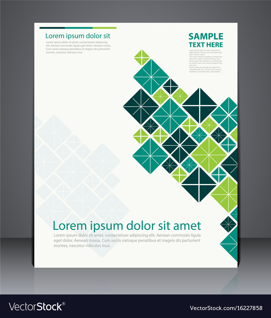 layout brochure flyer design template royalty free vector