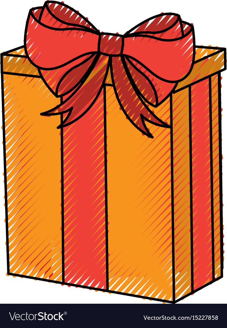 cartoon christmas gift
