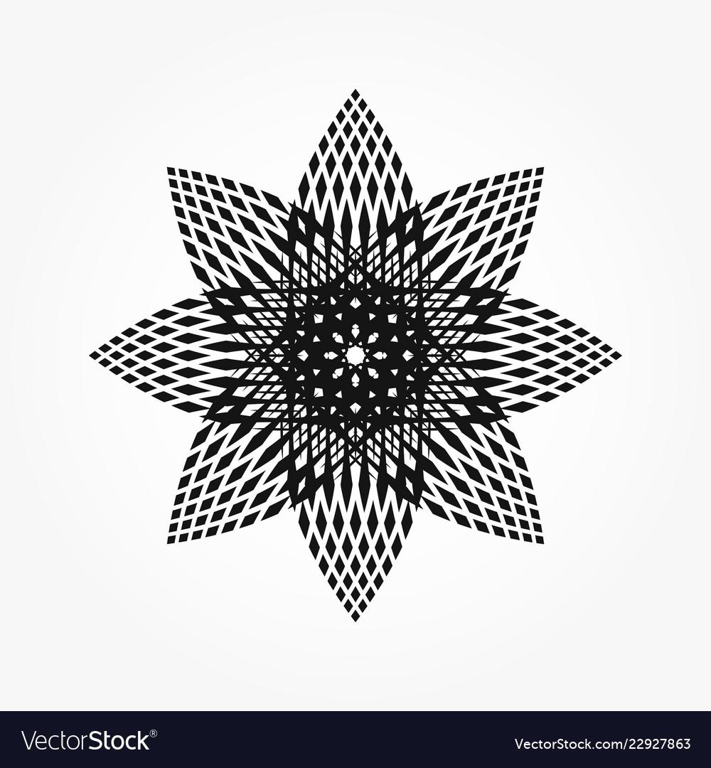 Abstract circular 0014