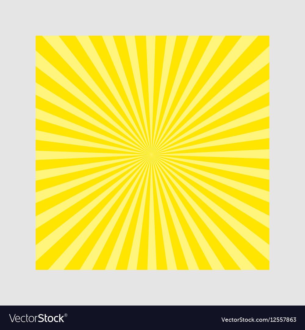 Sunburst pattern