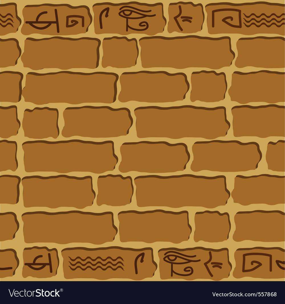 Seamless hieroglyphs