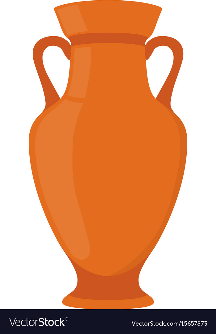 Ancient Pottery Vase Jar Amphora Royalty Free Vector Image