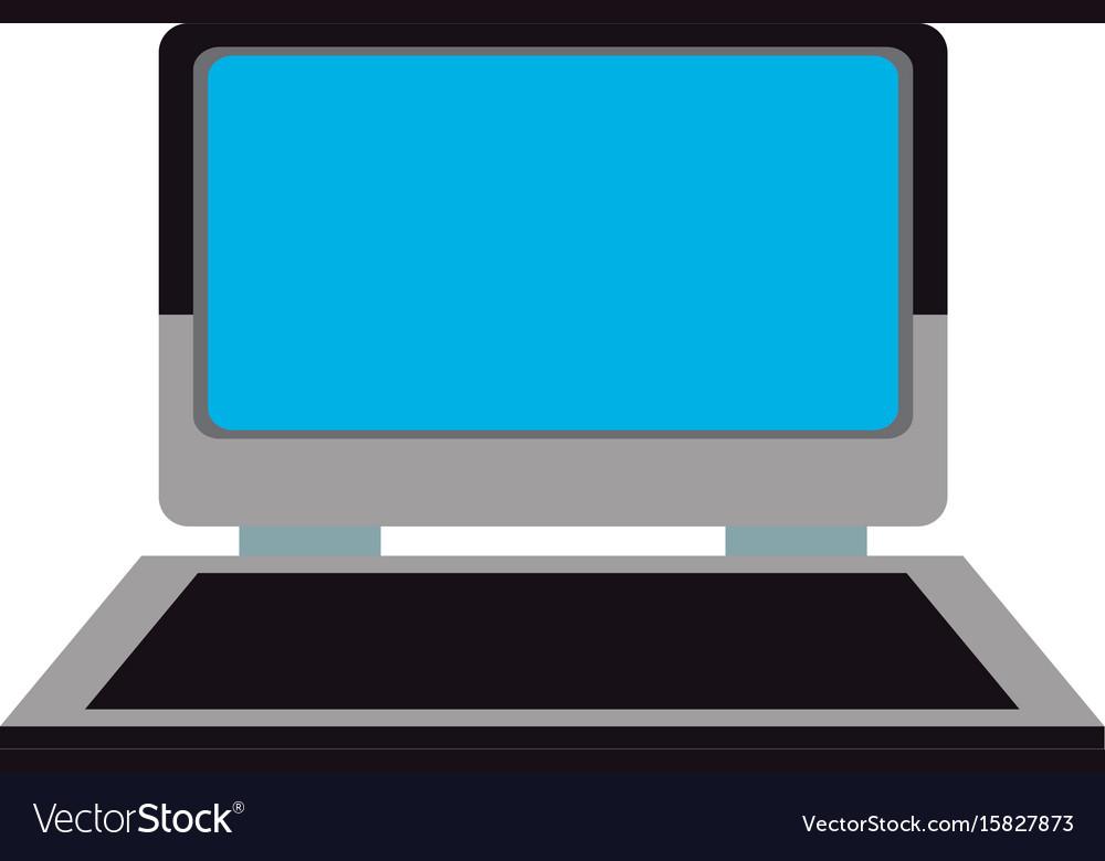 Laptop blue display device keyboard system