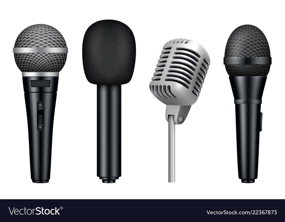 Microphones 3d music studio misc mic equipment