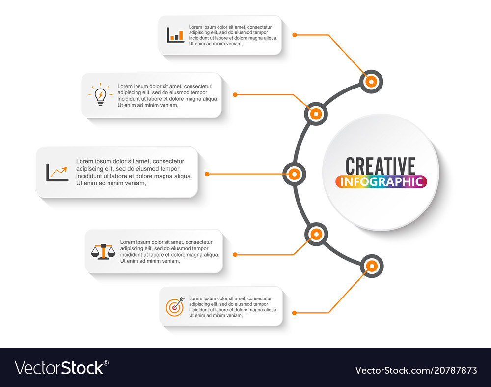 Timeline infographics design and marketing icons