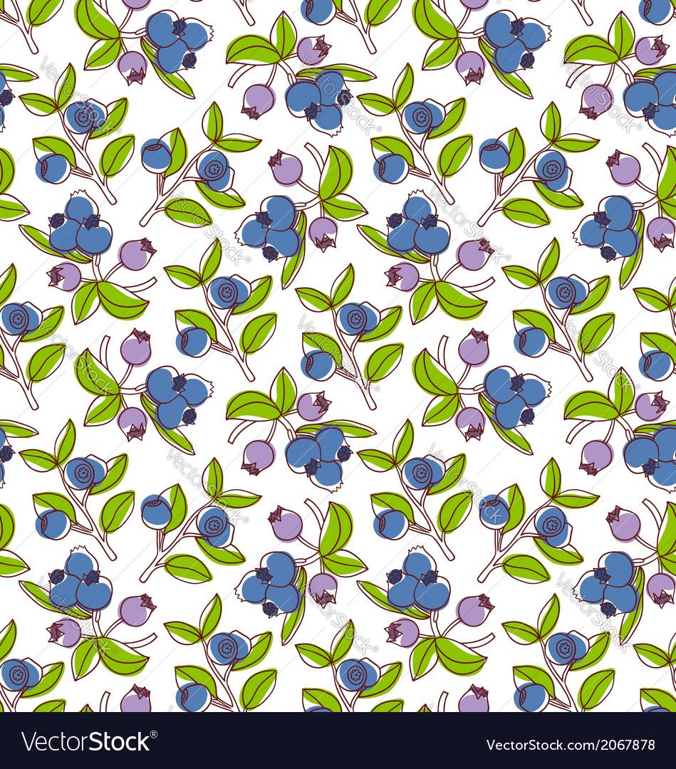 Blueberries pattern