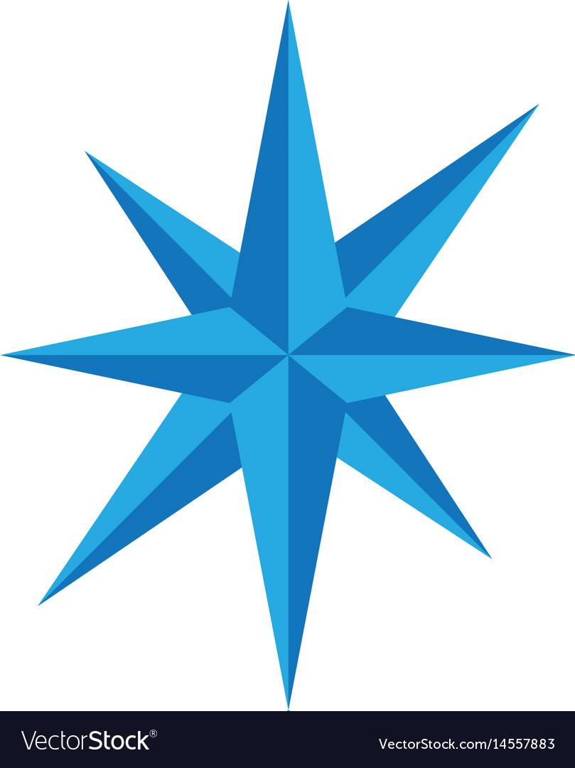 Compass logo template icon des