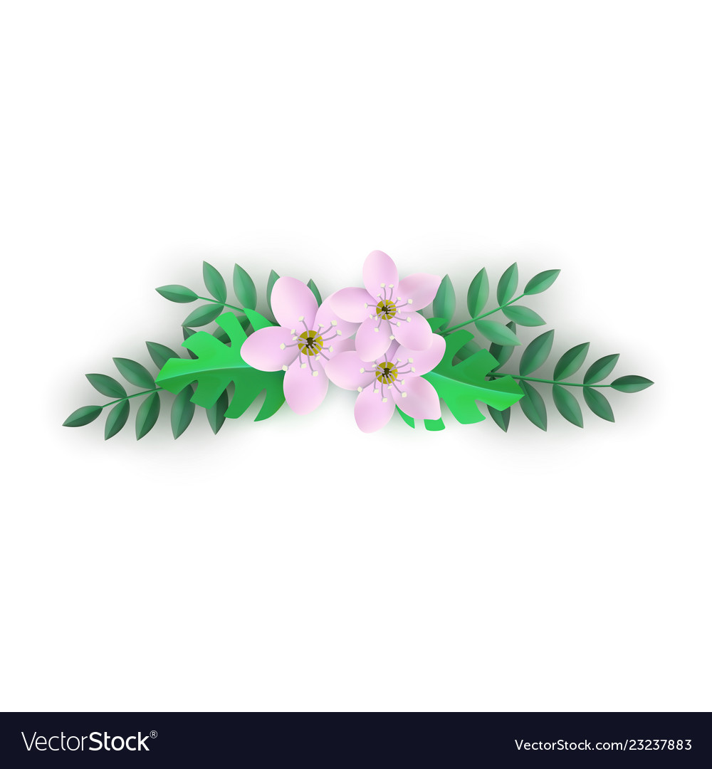 Floral composition with