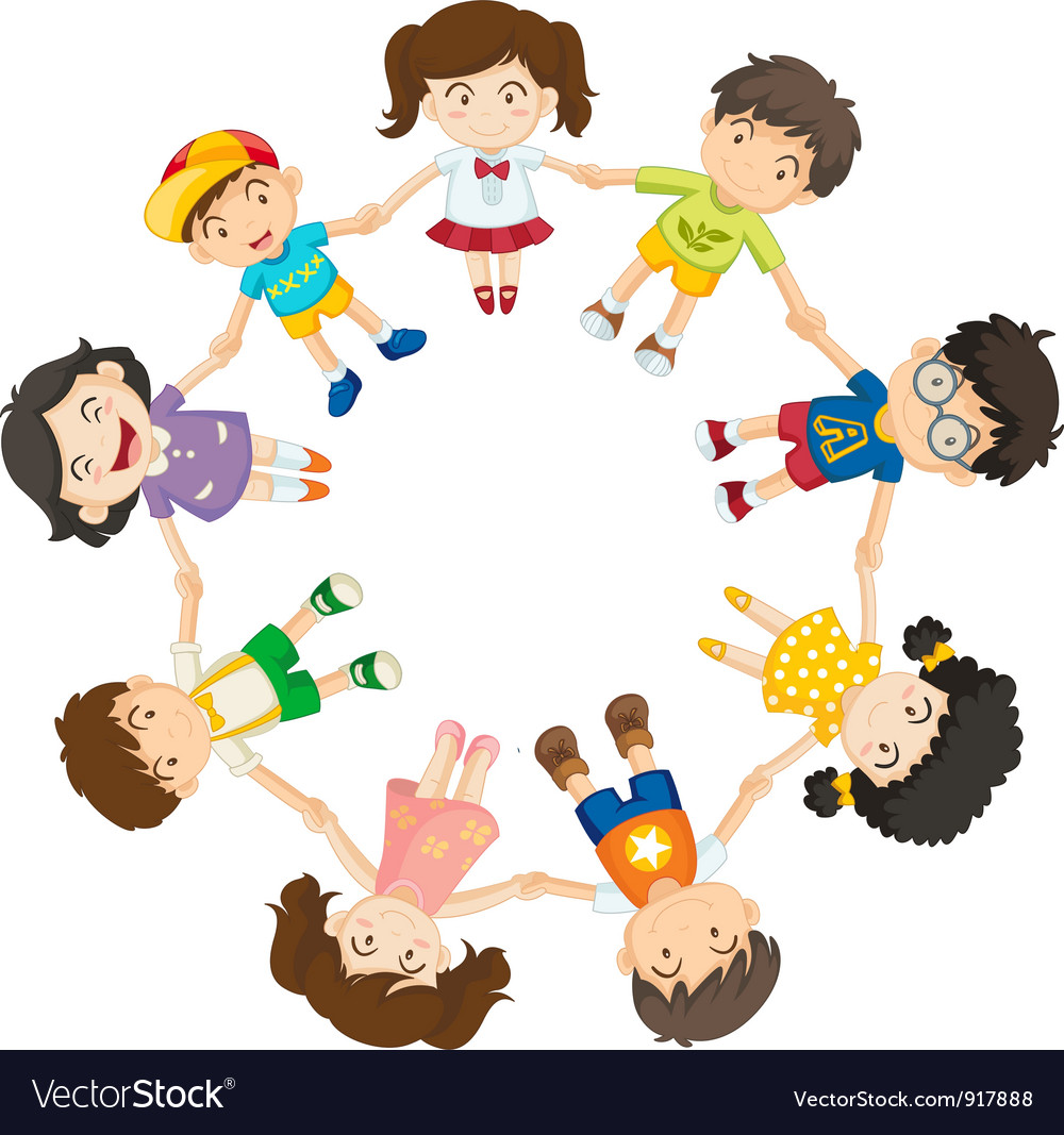 all together royalty free vector image vectorstock