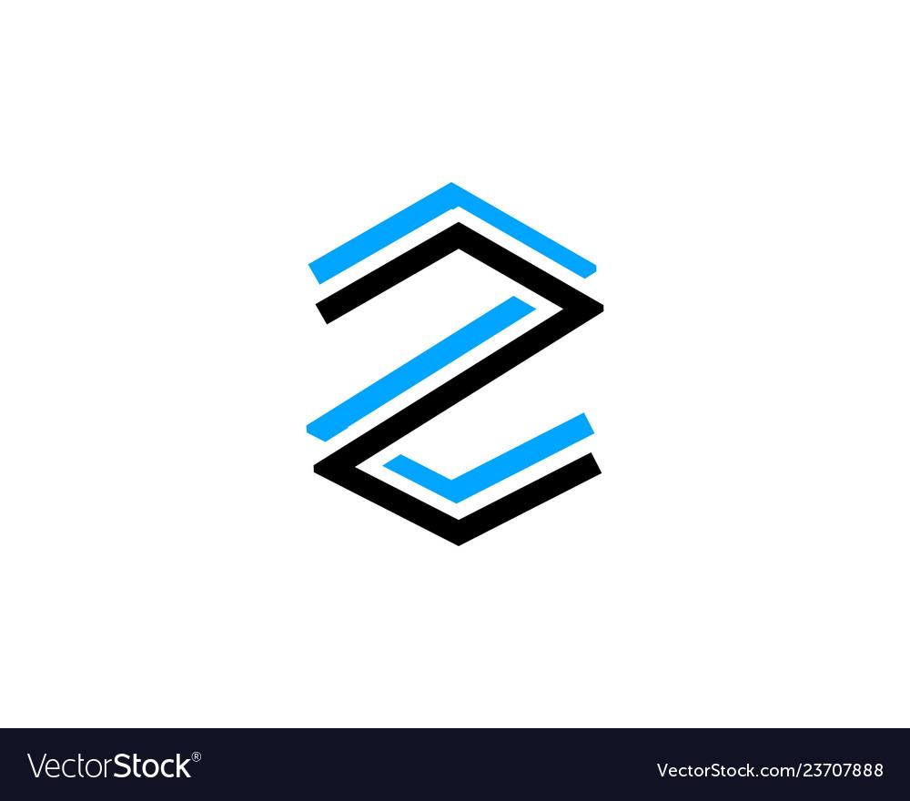 Initial letter z logo template design