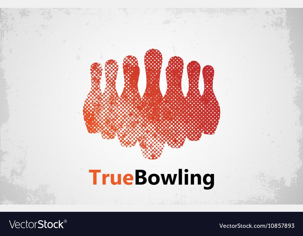 Bowling logo design Bowling poster design