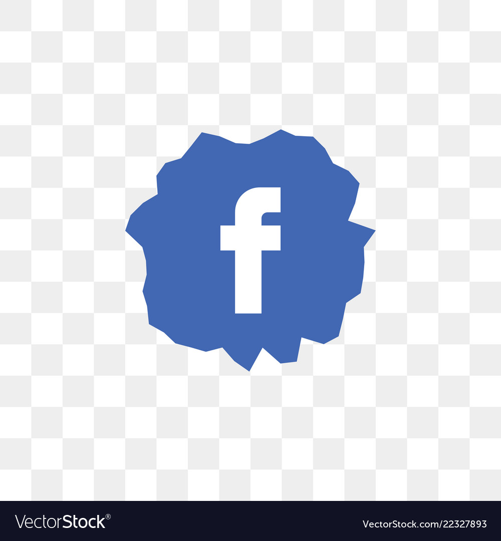 Facebook Social Media Icon Design Template Vector Image