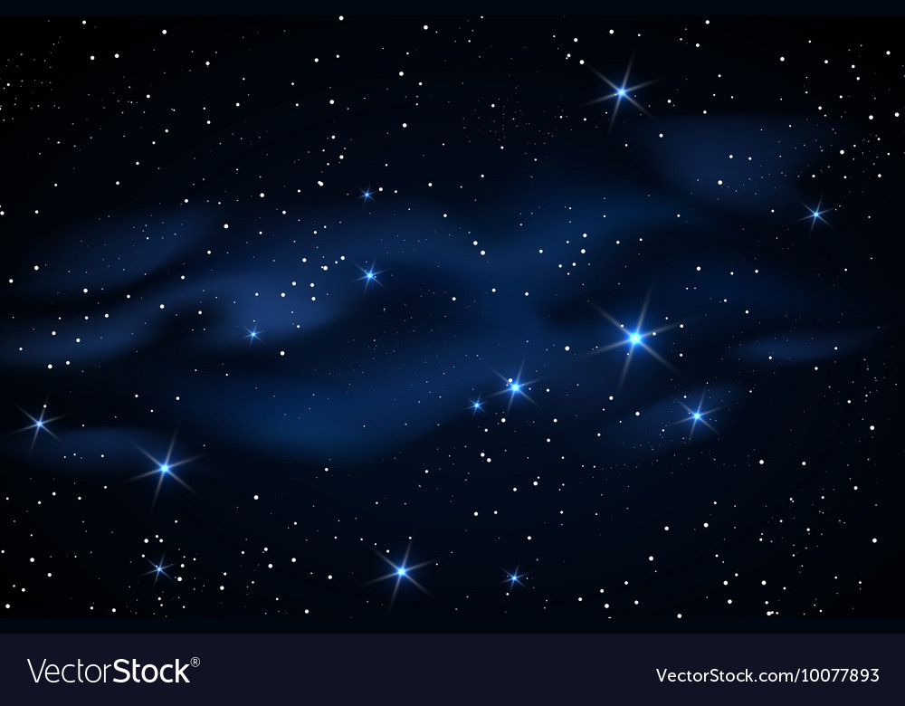 Milky way galaxy with stars