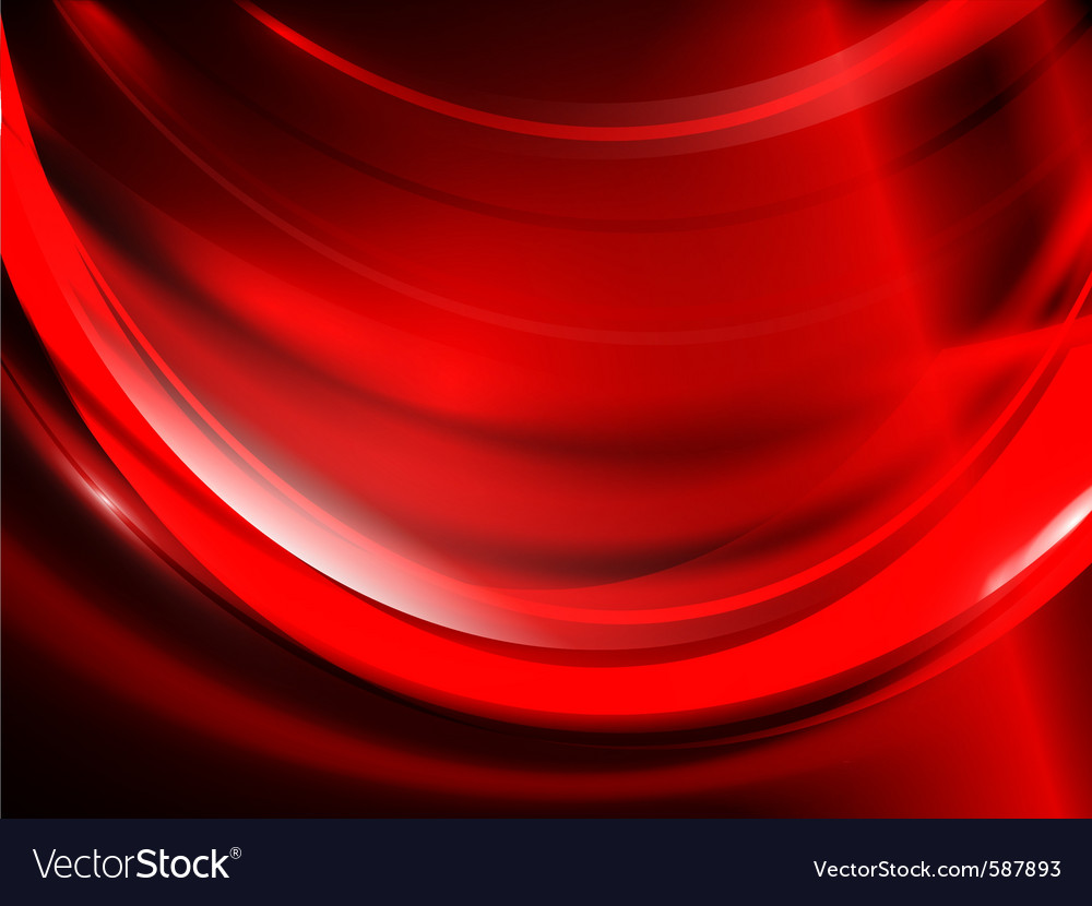 Red passion vector image