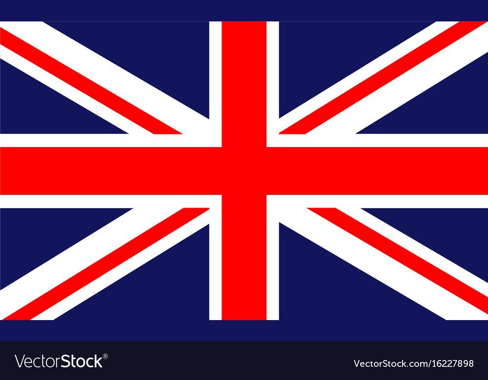 british flag royalty free vector image vectorstock rh vectorstock com british flag vector file british flag vector eps