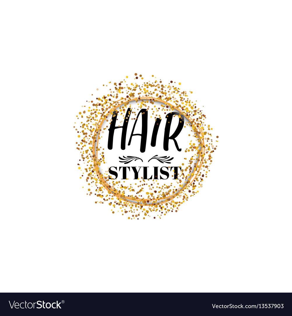 Badge for small businesses - beauty salon hair