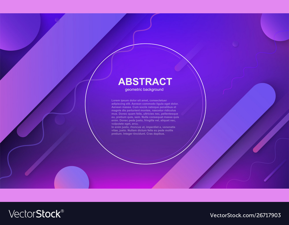 Minimal geometric business background