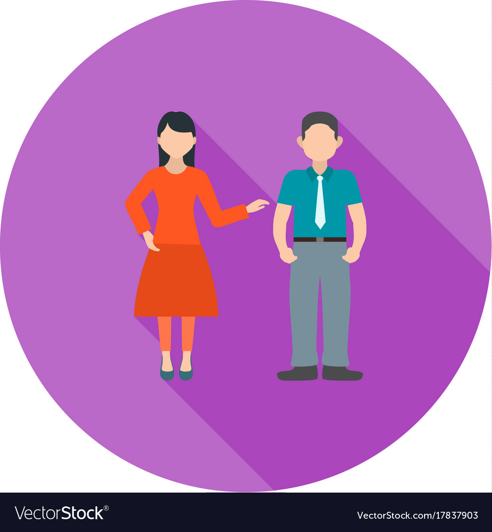 Negotiating skills vector image